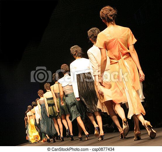 Fashion show. - csp0877434