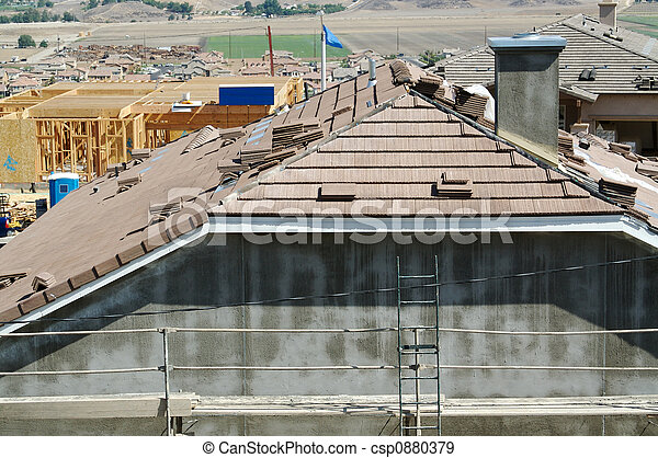 New Home Construction Sit - csp0880379