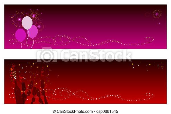 Celebration Banners - csp0881545