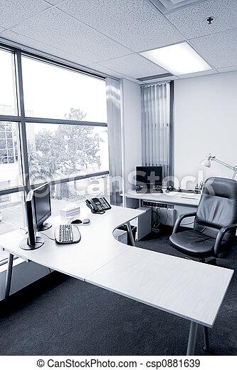 escritório, escrivaninha - csp0881639