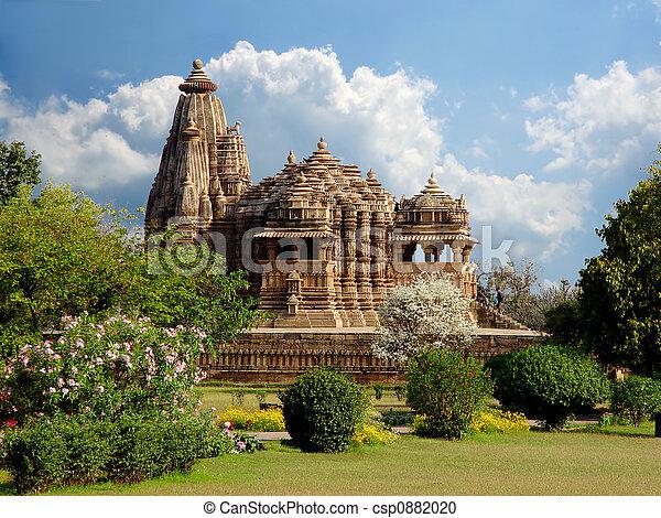 Khajuraho temple. India - csp0882020