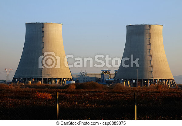 NUCLEAR POWER PLANT COOLING TOWERS - csp0883075