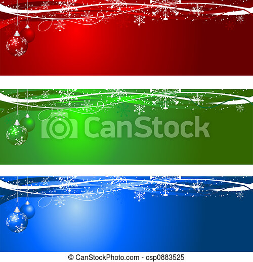 bakgrunder, jul - csp0883525