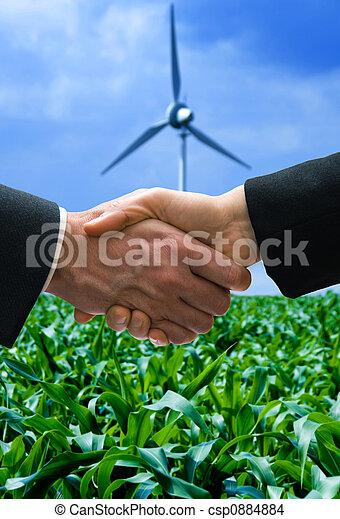 Energie, Karten geben - csp0884884
