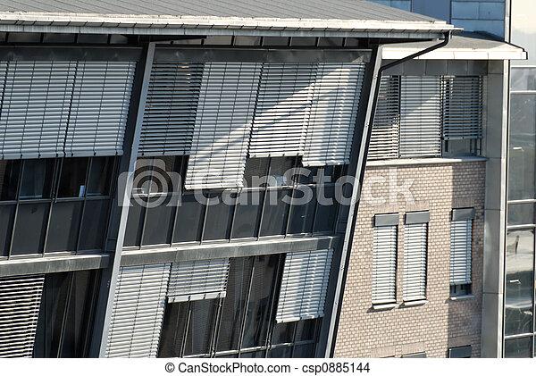 Office Building Detail - csp0885144