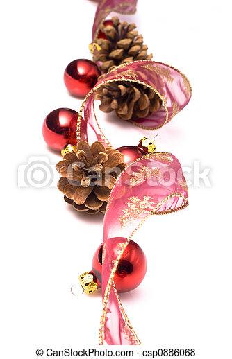 christmas ornaments - csp0886068