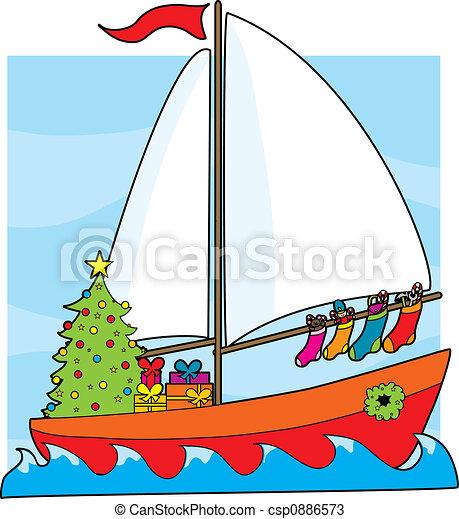 zeichnungen von segelboot  weihnachten a  segelboot  mit book clip art free boat clip art free