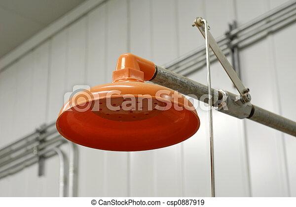 Emergency Safety Shower - csp0887919