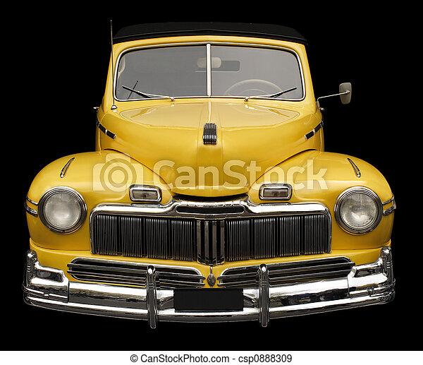 antikvitet, bil - csp0888309