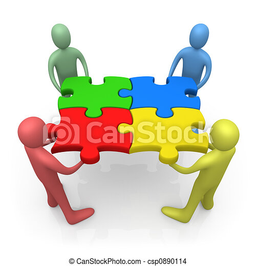 Working Together - csp0890114