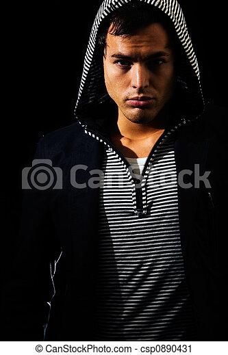 Young man fashion - csp0890431