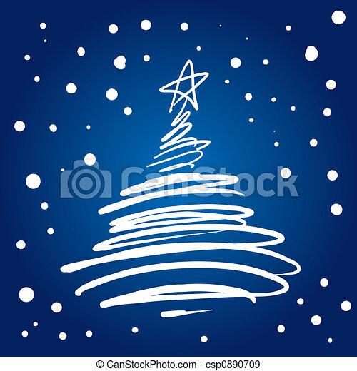 stock illustration von baum schn rkel weihnachten. Black Bedroom Furniture Sets. Home Design Ideas