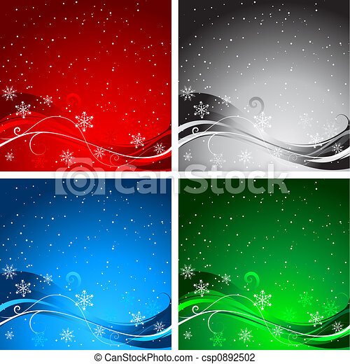 Christmas backgrounds - csp0892502