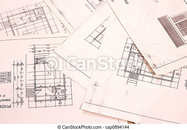 projekt, arkitektur - csp0894144