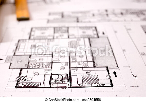 projekt, arkitektur - csp0894556