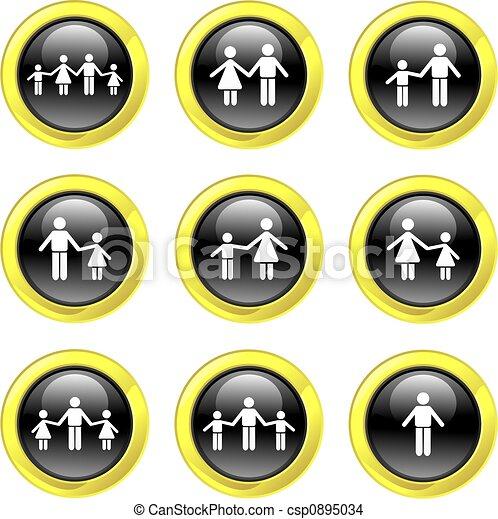 family icons - csp0895034