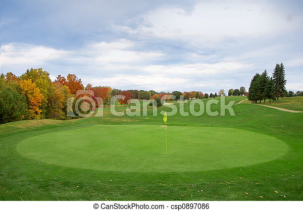 Golf Course - csp0897086