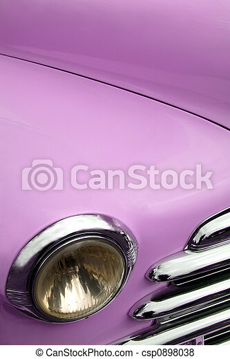 Antique car fender - csp0898038