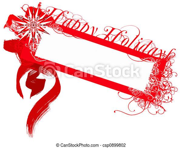 Stock Illustration - winter holiday card - stock illustration, royalty ...