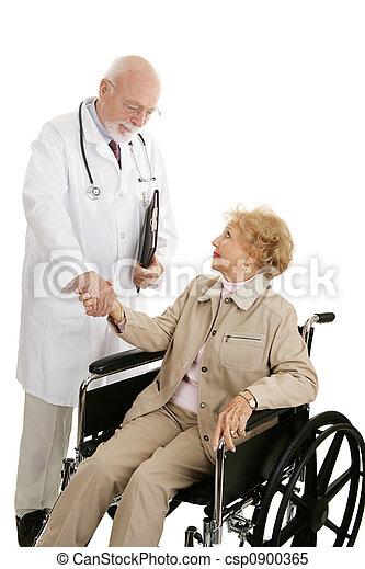 Successful Medical Treatment - csp0900365