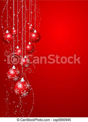 navidad, decoraciones - csp0900945