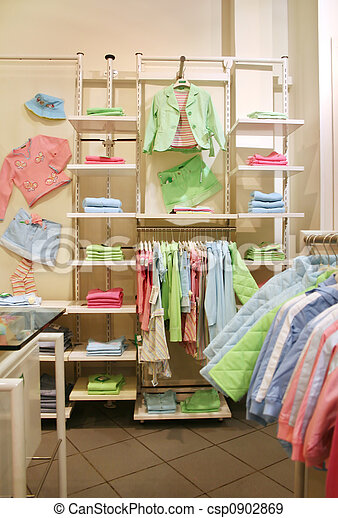 clothes child shop - csp0902869