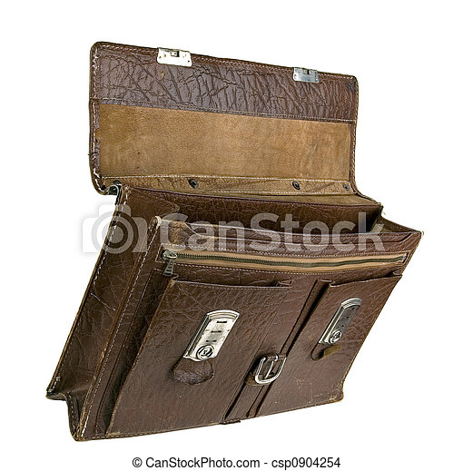 The old torn portfolio. - csp0904254
