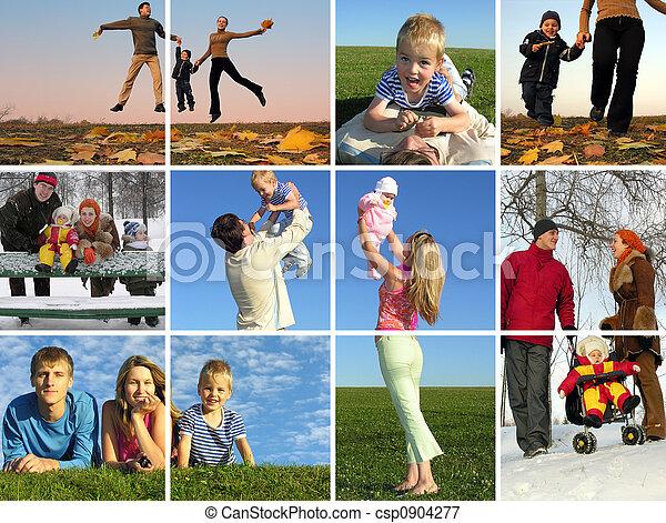 the year round family - csp0904277