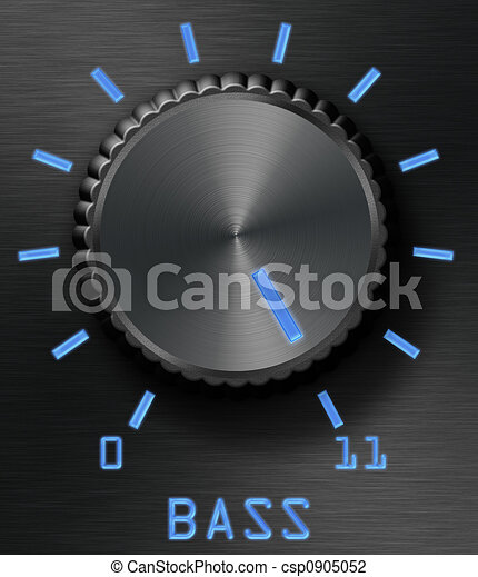 Bass level control - csp0905052