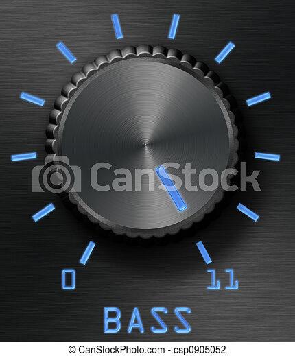 Bass level control - csp0905052