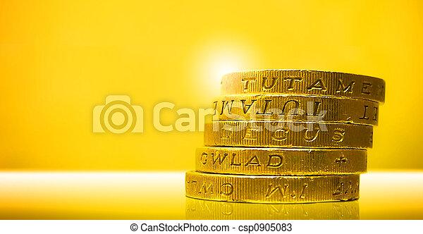 Pound Coins - csp0905083