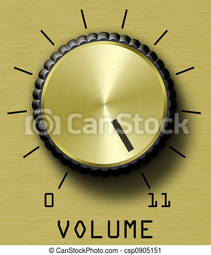 Gold Volume Control - csp0905151