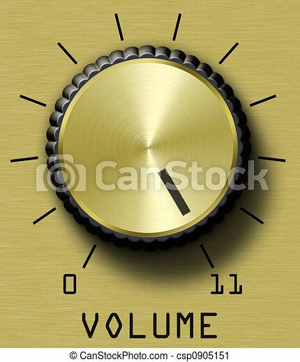 Gold Volume Control  - csp0905151