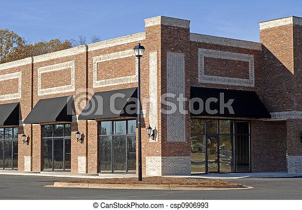 byggnad, färsk, commercial-retail-office - csp0906993