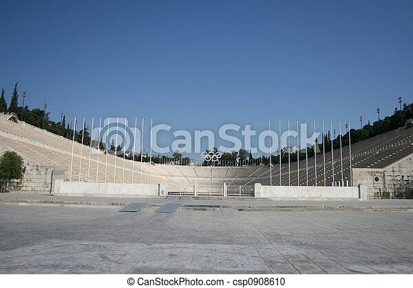 landmarks stadium athens - csp0908610