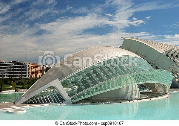 Futuristic Building - csp0910167