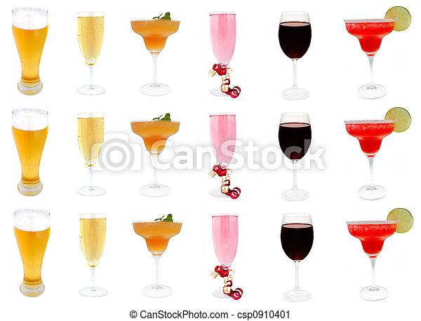 alcoholic drinks - csp0910401