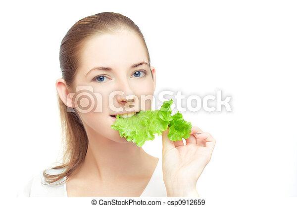 Young vegan - csp0912659