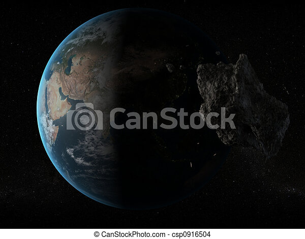 imminent asteroid - csp0916504