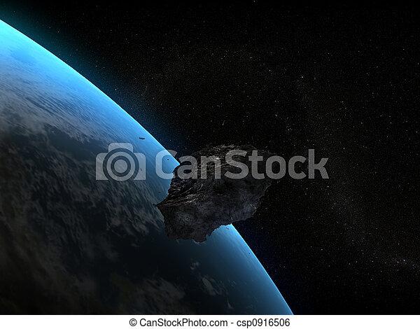 imminent asteroid - csp0916506