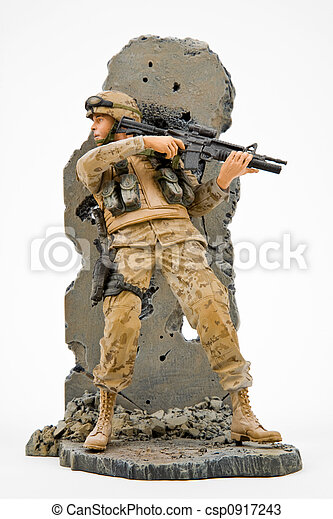 US Army Solider - csp0917243