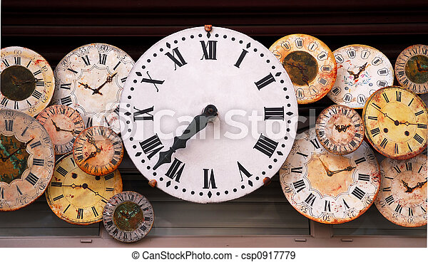 Antique clocks - csp0917779