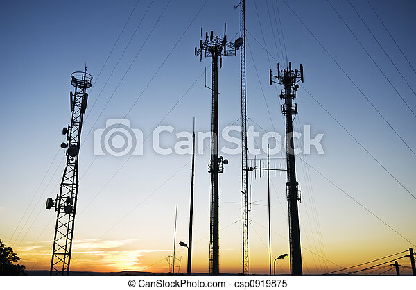 telecom, antenas - csp0919875