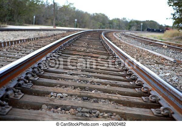 Railroad Tracks - csp0920482