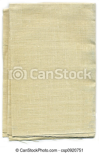 Linen Canvas Background Texture - csp0920751