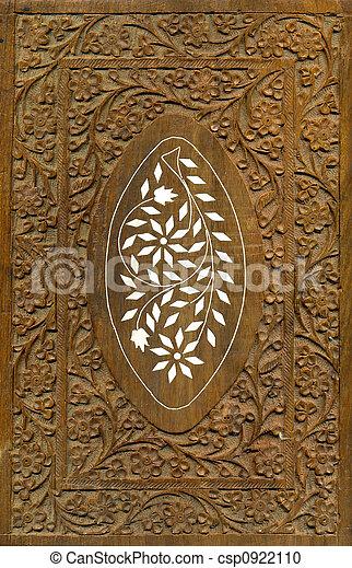 Wood Carving Pattern Design Elements - csp0922110