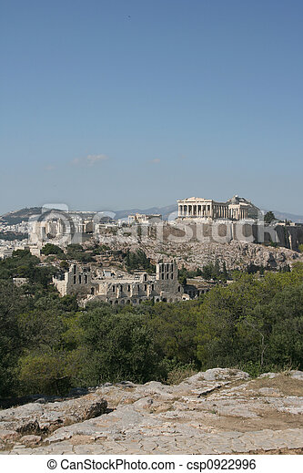 landmarks parthenon - csp0922996