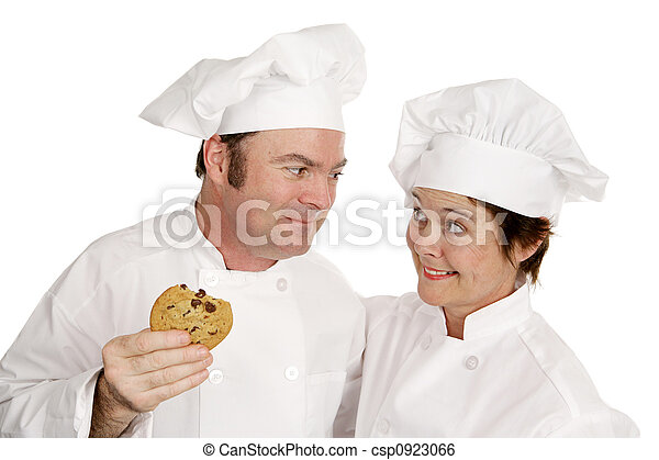 Chef Loves Cookie - csp0923066