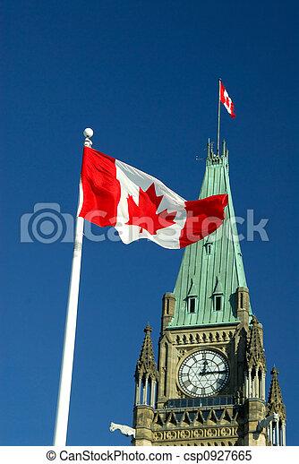 Canada Flag - csp0927665
