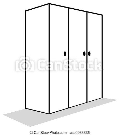Illustration de placard illustration pour les placard - Dessin d armoire ...